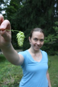 Hops as big as my head!